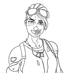 Coloring Pages Fortnite Coloring Pages To Draw Recon