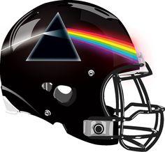 Pink Floyd Helmet from a Fantasy Football League