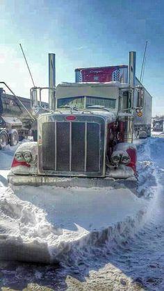 Peterbilt frozen in time