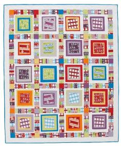 Floating Boxes Quilt | AllPeopleQuilt.com