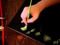 One Stroke Painting Listovi - YouTube