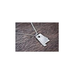 Sweet Home Alabama Necklace found on Polyvore