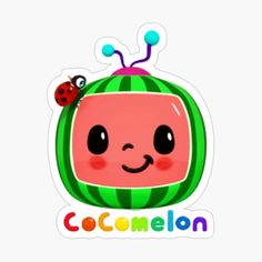 'Cocomelon songs for kids' Sticker by StefaniaAlina Plastic Stickers, Kids Stickers, Birthday Gifts For Kids, 1st Boy Birthday, Decorate Notebook, Kids Songs, Sticker Design, Kids Outfits, Printed