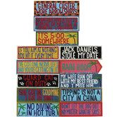 Found it at Wayfair - Complete Set of Outdoor Signs