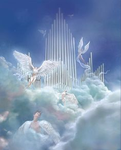 Heavenly Angels Angel SAngel WingsAngels In HeavenHeavenly