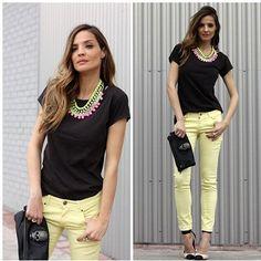Bib necklace (by Lady Addict) http://lookbook.nu/look/3345781-bib-necklace  http://stylelovely.com/ladyaddict/2012/04/bib-necklace-lady-addict