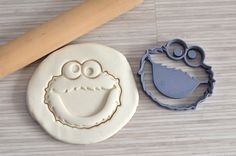 Emporte-pièce Cookie Monster -  Cookie cutter Cookie Monster -  LaBoiteACookies