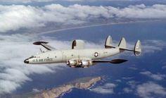 A Lockheed EC-121 Constellation.