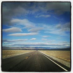 """Crossing Nevada on our recent road trip on Highway 50, the """"Loneliest Highway in America"""""""