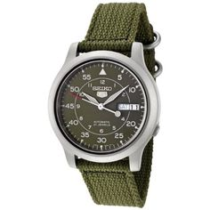 Seiko Fabric Strap Watches for men are very good looking and beautiful watches. The Seiko watches can easily catch anybody's eyes in the first look. But, in most of the cases men fails to choose their watches to buy. Timex Watches, Seiko Watches, Citizen Watches, Seiko Automatic, Automatic Watch, Best Watches For Men, Cool Watches, Wrist Watches, Amazing Watches