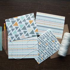 Geometric Card Set