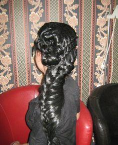 Плитка за дамите с дълги коси