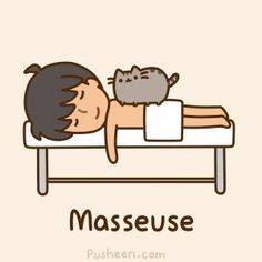 Masseuse Pusheen