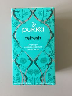 #pukka #tea my new fave for after dinner/bedtime