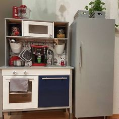Ikea kinderküche erweitern  Ikea hack of duktig play kitchen. Two basic kitchen units. | DIY ...