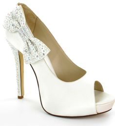BRIDE SHOES | Satin Shoes : Glitzy n Glamorous - Bridal, Evening and Occasion Shoes ...
