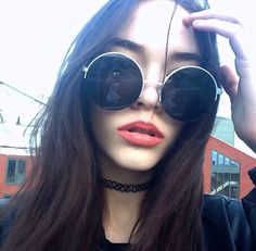 grunge, lips, and model image