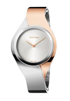 I like this, I need a watch for a 8inch wrist.   If  not this maybe a grey band and rose gold color face.   La montre Senses de Calvin Klein http://www.vogue.fr/joaillerie/le-bijou-du-jour/diaporama/la-montre-senses-de-calvin-klein/18982/carrousel#la-mont