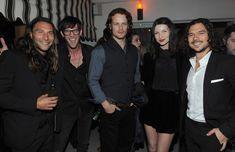 Sam und Caitriona bei der Premiere After Party von 'Black Sails' im Chateau Marmont...