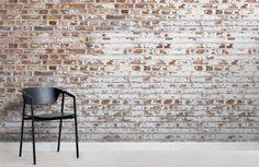 Brick Design Wallpaper, Exposed Brick Wallpaper, Brick Wallpaper Mural, Brick Pattern Wallpaper, White Brick Wallpaper, Look Wallpaper, Textured Wallpaper, Latest Wallpaper, Wallpaper Ideas
