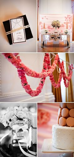 A French Inspired Bridal Shower by Jasmine Star | Style Me Pretty the whole thing is too cute!