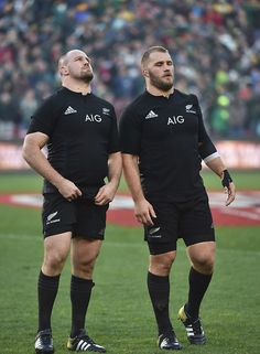 Owen and Ben Franks of the All Blacks