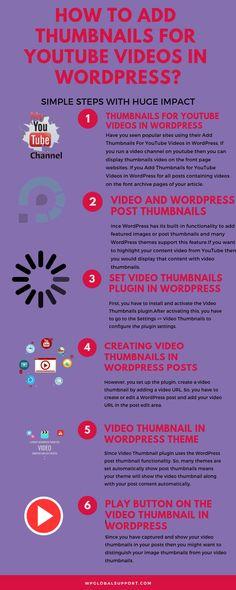 wordpress video thumbnail