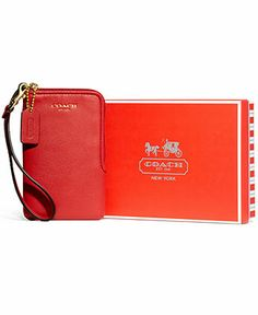COACH LEGACY NORTH/SOUTH UNIVERSAL CASE IN LEATHER - Tech & Travel Accessories - Handbags & Accessories - Macy's