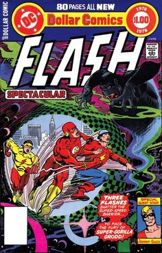 More of DC Comics' Gorilla obsession The Flash Spectacular, cover by Jose Luis Garcia-Lopez Dc Comic Books, Vintage Comic Books, Comic Book Artists, Vintage Comics, Comic Book Covers, Comic Art, Fantastic Four Comics, Flash Comics, Silver Age Comics