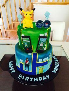 Pokemon Go 24/7 - Cake by Cakes Paradise