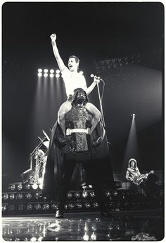 Freddy Mercury rides Darth Vader ... Epic
