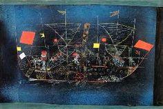 Paul Klee - Le navire d'aventurier