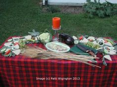 Mabon is known as a sabbat of the second harvest - why not gather up your goodies from the garden, and use them on your altar as part of your celebrations?