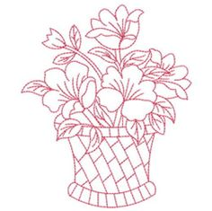 Vintage Embroidery Designs Free Redwork Patterns to Print Embroidery Transfers, Hand Embroidery Designs, Vintage Embroidery, Embroidery Patterns, Learn Embroidery, Ribbon Embroidery, Embroidery Stitches, Quilling Patterns, Stencil