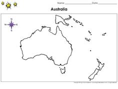 Mapa mudo oceaniag education pinterest montessori australia map blank full page continent landscape king virtue gumiabroncs Image collections