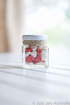 50ml square jar from Just Jars