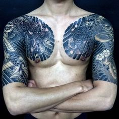 100 Dragon Sleeve Tattoo Designs For Men - Fire Breathing Ink Ideas Black Dragon Tattoo, Dragon Tattoos For Men, Dragon Sleeve Tattoos, Dragon Tattoo Designs, Best Sleeve Tattoos, Tattoo Sleeve Designs, Tattoo Designs Men, Cool Chest Tattoos, Cool Tattoos For Guys