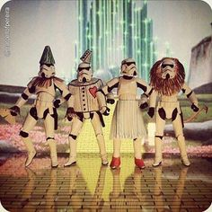 The Stormtroopers of Oz pic.twitter.com/sOrF6PlMls