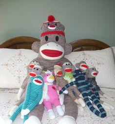 I love sock monkeys!