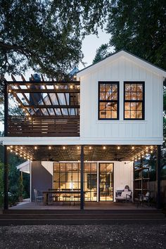 Dream Home Design, My Dream Home, House Design, Casas The Sims 4, Dream House Exterior, House Goals, Exterior Design, Future House, Modern Farmhouse