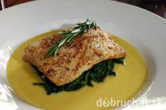 Zapečená špenátová ryba
