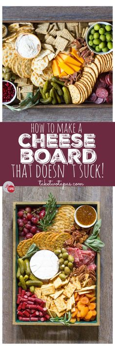 The perfect addition to any winter holiday party is a cheese board! Full of fruits meats cheeses nuts and olives it is perfect for satisfying all your guests at the same time! Thanksgiving Appetizers, Appetizers For Party, Party Snacks, Appetizer Recipes, Dinner Recipes, Meat Appetizers, Fruit Party, French Appetizers, Appetizer Dishes