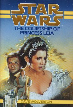Star Wars: The Courtship of Princess Leia by Dave Wolverton Hardcover) for sale online Star Wars Novels, Star Wars Books, Leia Star Wars, Star Trek, Han And Leia, Star Wars Episode Iv, Star Destroyer, Carrie Fisher, Princess Leia