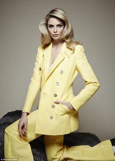 Tamsin Egerton Makeup By HarryMakesItUp Bank Fashion, Coast Fashion, Street Fashion, Dresses For Less, Going Out Dresses, Tamsin Egerton, Suits For Women, Clothes For Women, Women's Clothes