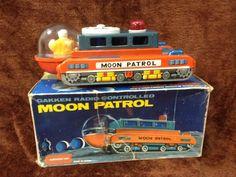 Gakken Moon Patrol Spaceship toy from 60s.