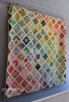 Gorgeous quilt; quite obsessive quilter (a Tula Pink stalker). Stop me if I get quite this bad. :-)