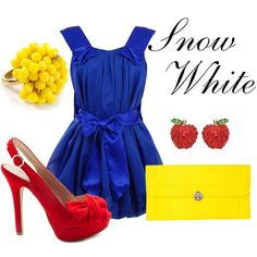 Snow White, created by sydney-emerson on Polyvore