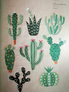 Stitch cactus