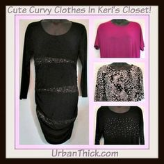 #UPDATES - Keri your #cute #curvy #clothes have been added to your closet. #sophiavergara #dress #asymmetricalblouses #sizexl #size1x #plussize #stylish #tops #blouse #trendy #sexy #sequins #fitting #urbanthick #availablenow #buynow #dontmissit #curves UrbanThick.com In Keri's Closet
