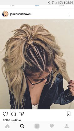 I want to do this with add in hair for reggae festival:)